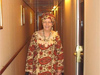 Barb in African Dress - African Cruise