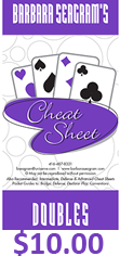 Barbara Seagrams Doubles Cheat Sheet