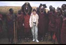 Barb with African tribesmen