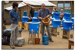 Adopt a Village in Laos - Water Filter