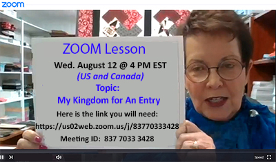 Zoom - Upcoming